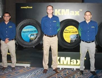 Nuevos neumáticos KMAX de Goodyear mejoran rendimiento hasta en 15%