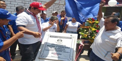 Inauguran en San Juan de Lurigancho obras viales esperadas por 50 años