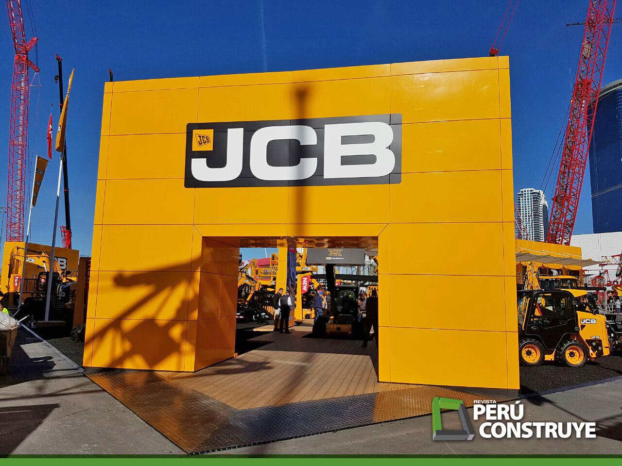 JCB presente en  CONEXPOCONAGG
