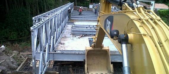 Acrow firma acuerdo con gobierno del Perú para suministrar 101 puentes de acero
