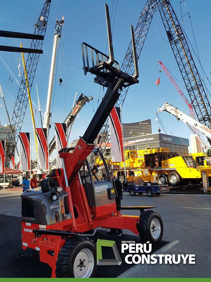 Manitowoc Cranes presente en  CONEXPOCONAGG
