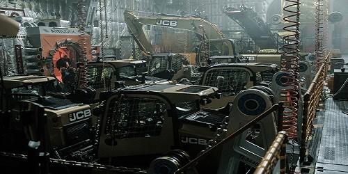 JCB se lució en nueva película Alien: Covenant