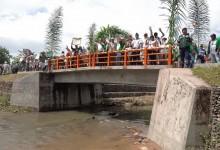 Huánuco: inauguran cinco puentes en beneficio de productores