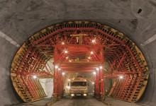 Encofrado para túneles: Soluciones para diferentes configuraciones