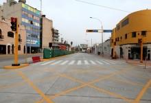 Alcalde Castañeda inspecciona etapa final del remozamiento de Av. Guzmán Blanco