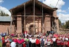 Cusco: inician la puesta en valor de templo Santa Catalina en Acomayo
