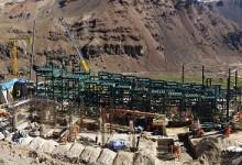 Unidad Minera Tambomayo: Construcción en minería