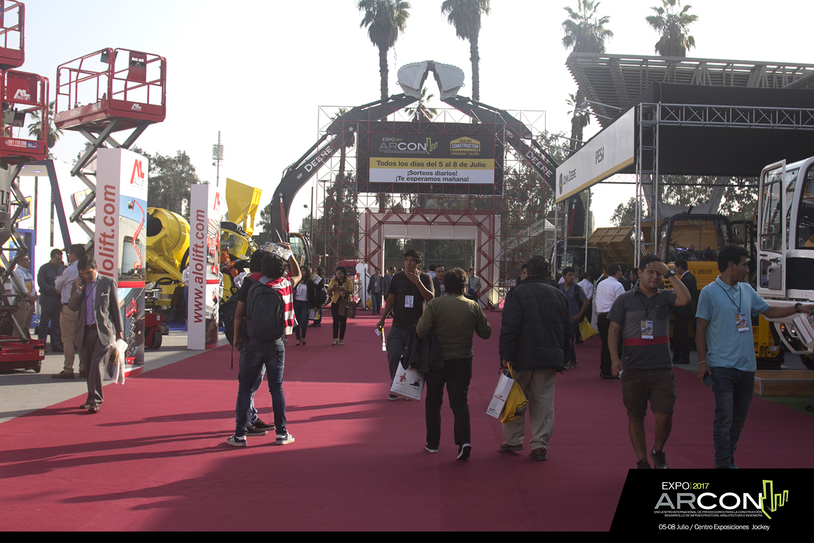 Segundo día ExpoArcon 2017