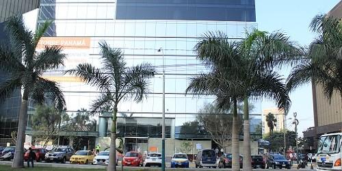 Edificio de oficinas Torre Panamá: Estilizada estructura