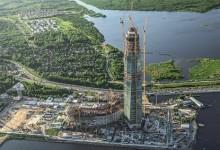 PERI participó en el construcción del edificio más alto de Europa