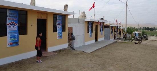 Ministerio de Vivienda construirá 1,710 casas definitivas en Piura