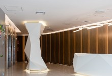 Centro Empresarial Volterra: Arquitectura preponderante