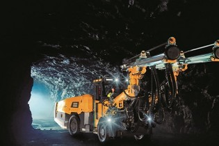 Perforar y sostener: Equipos de construcción subterránea
