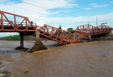 Piden instalar puentes modulares para reemplazar infraestructuras dañadas