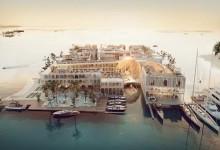 Dubái: construirán complejo flotante inspirado en Venecia