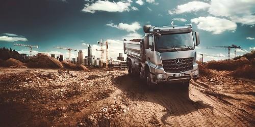 Camión volquete: Transporte de máxima potencia