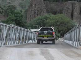 La Libertad: MTC pone en funcionamiento puente Chagualito