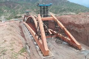 Puente Antonio Raimondi y accesos: Superestructura de acero