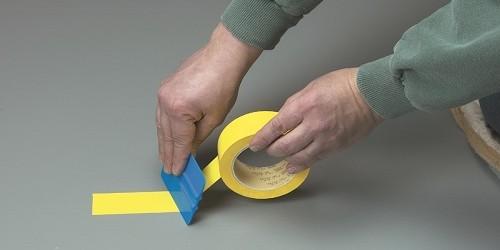 Nuevas cintas de vinilo  para uso general y marcajes de seguridad