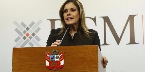 Mercedes Aráoz: Economía puede crecer más de 4% en el 2018