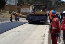 Cusco inició asfaltado de carretera de 21 kilómetros Cusco – Ccorca