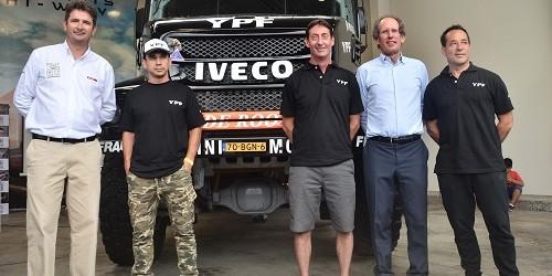 IVECO va por la victoria en el Dakar 2018