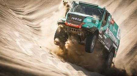 Otro podio de etapa para IVECO en el Rally Dakar
