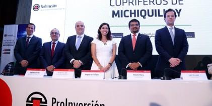 ProInversión adjudica a Southern Perú el proyecto minero Michiquillay