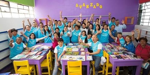 Cosapi inauguró su 6ta biblioteca escolar