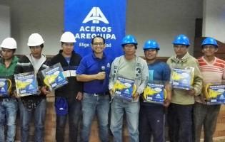 Aceros Arequipa inicia capacitaciones gratuitas a trabajadores del sector construcción
