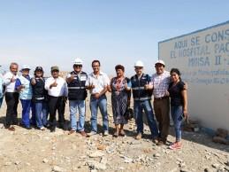 Minsa entrega terreno para construir Hospital de Pacasmayo