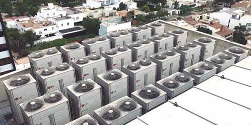 Para edificaciones: Soluciones en equipos de climatización