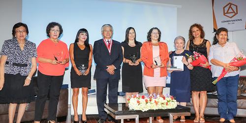 Colegio de Arquitectos del Perú conmemoró el día internacional de la mujer