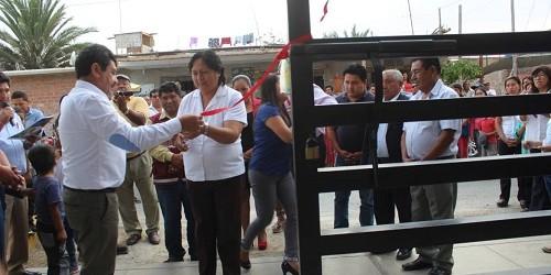 Paracas: inauguran primera escuela construida con la modalidad de OxI