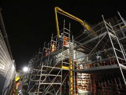 Se reinician las obras del viaducto El Derby