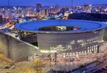 Inauguran remodelado estadio Ekaterimburgo Arena para el Mundial de Rusia