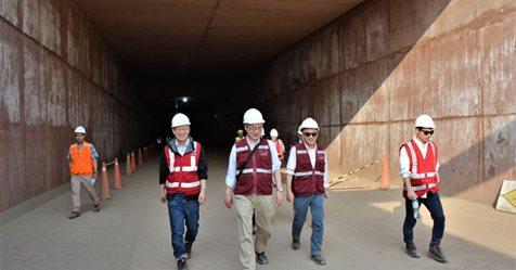 Metro de Lima: Patio Taller de Santa Anita de la Línea 2 está al 70%