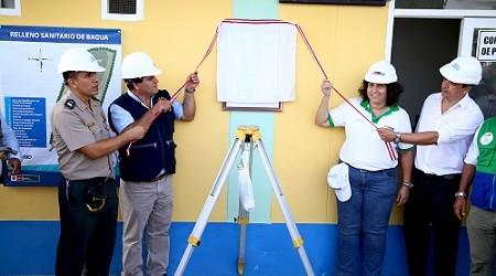 MINAM: Inauguran relleno sanitario que beneficiará a 37,000 personas