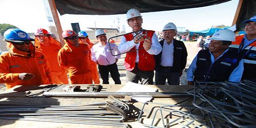 Presidente Vizcarra garantiza recursos para culminar planta de tratamiento de Calana