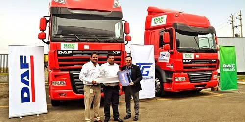 DAF presenta los  modelos CF85 y XF105 de camiones EURO 5