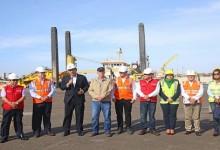 Presidente Vizcarra y Titular del MTC inauguran obras de construcción del Puerto de Pisco