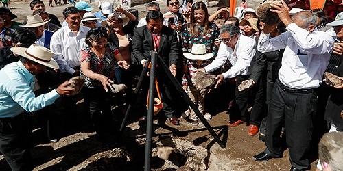 Arequipa: Inician construcción de centro de salud en Cerro Verde