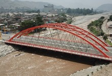 Puente Ñaña: Integradora superestructura vial