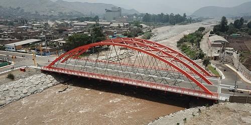 Puente Ñaña:Integradora superestructura vial