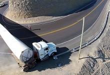 Transporte de carga sobredimensionada:Servicio de gran responsabilidad sobre ruedas