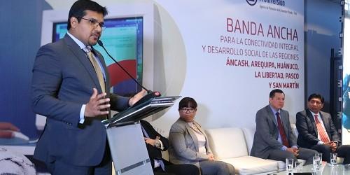 Más de 1 millón de peruanos se beneficiarán con 6 proyectos regionales de Internet