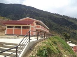Concluyen construcción en cuatro colegios de Huánuco