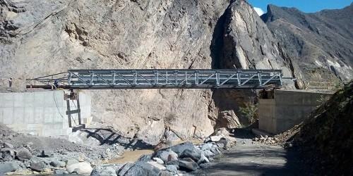 Esmetal gana buena pro para la construcción de 98 puentes modulares