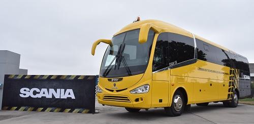 Scania innova standard de seguridad en buses